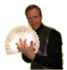 Pennsylvania Magician Eddy Ray with Cards