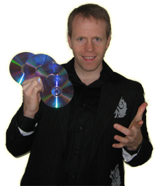 Magician in Reading Eddy Ray