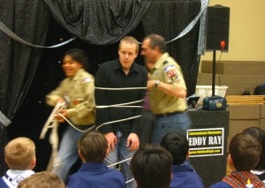 Pottstown Magician Scout Show Photo